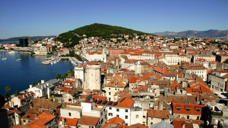 Croatia Red Roofs