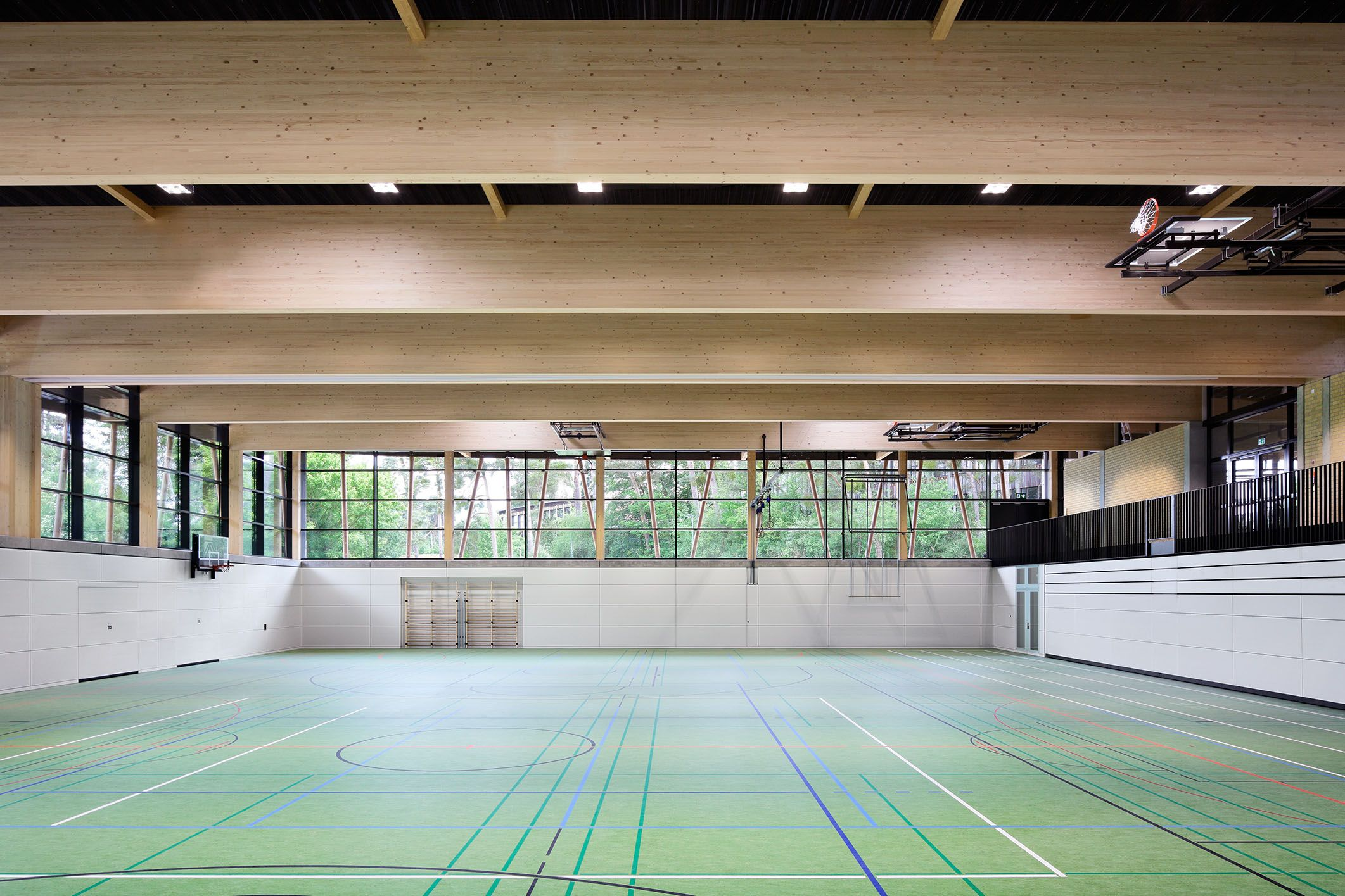 loewer partner architekten und ingenieure sporthalle am schuldorf studium leistungscampus. Black Bedroom Furniture Sets. Home Design Ideas