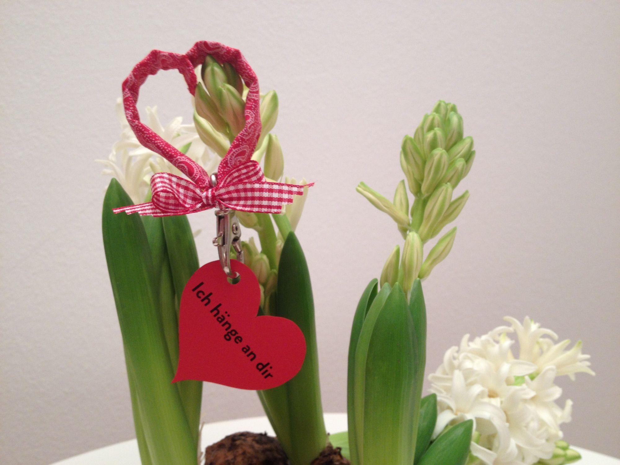 DIY: Herziger Schlüsselanhänger zum Valentinstag | ROSAROT Hochzeiten und Feste
