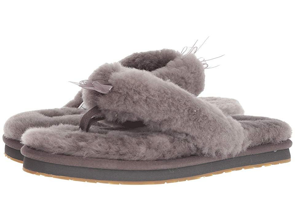 9acd6b76034 UGG Fluff Flip Flop III Women's Slippers Grey   Products   Uggs ...