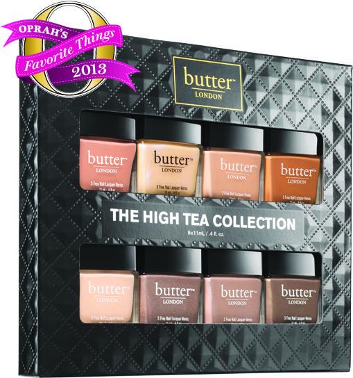 The High Tea Collection Butter London Nail Polish Gift Set Oprahs Favorite Things Butter London Nail Polish