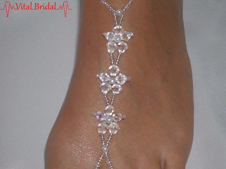 Bare Foot Sandles Jewlery Wedding Barefoot Sandals