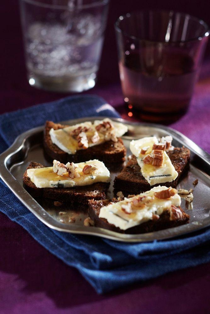 Hunajaiset juustoleivät | K-ruoka #uusivuosi