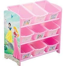 Disney Princess 9 Bin Toy Organizer Delta Toys R Us Disney