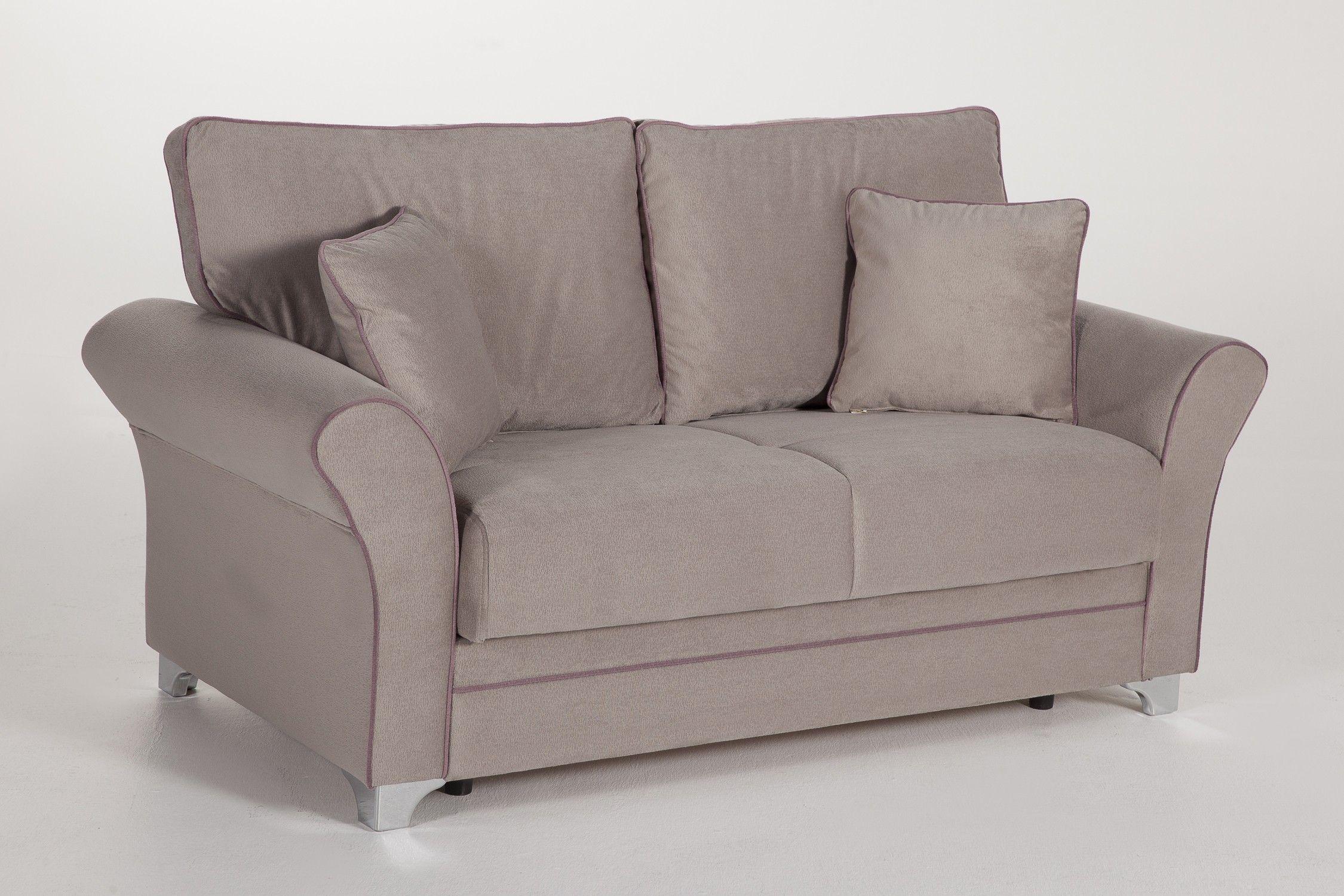 Broyhill Loveseat Cabrio Königin Couch Bett Kleine Sleeper Sofa Stühle