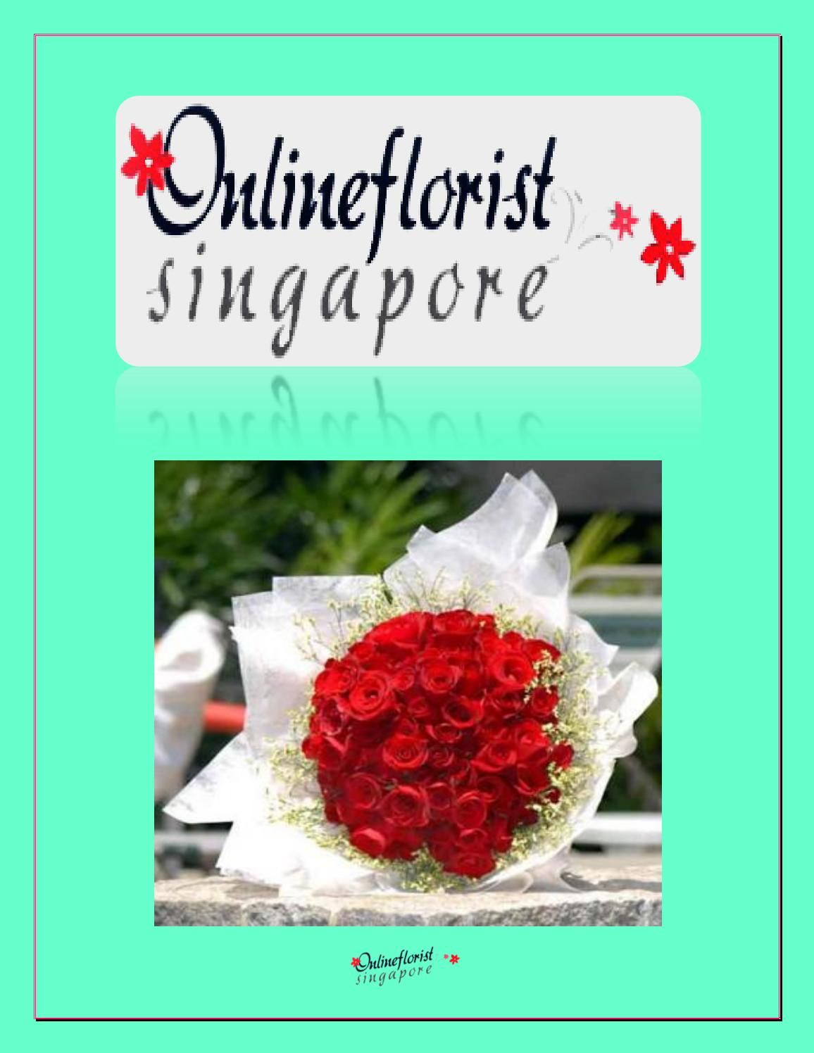 Online Florist Singapore is one of the best flower shops