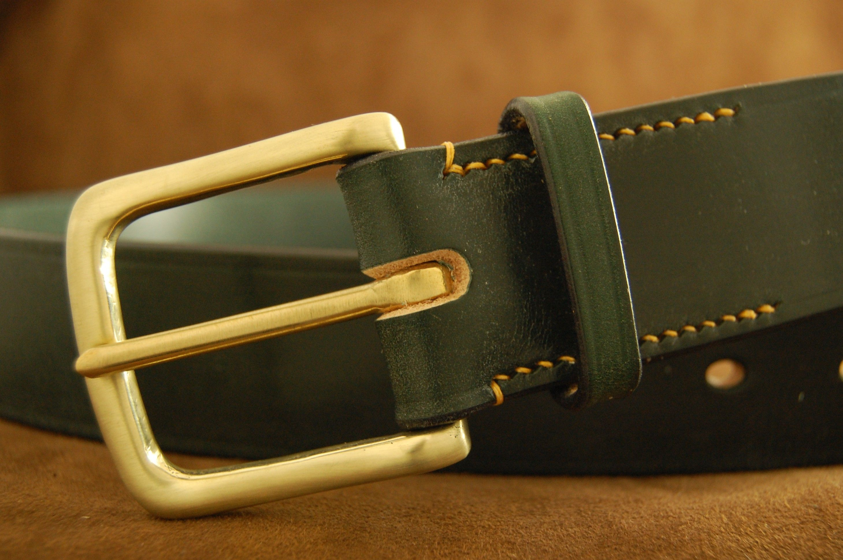 Brass West End (Satin Finish) in British Racing Green with