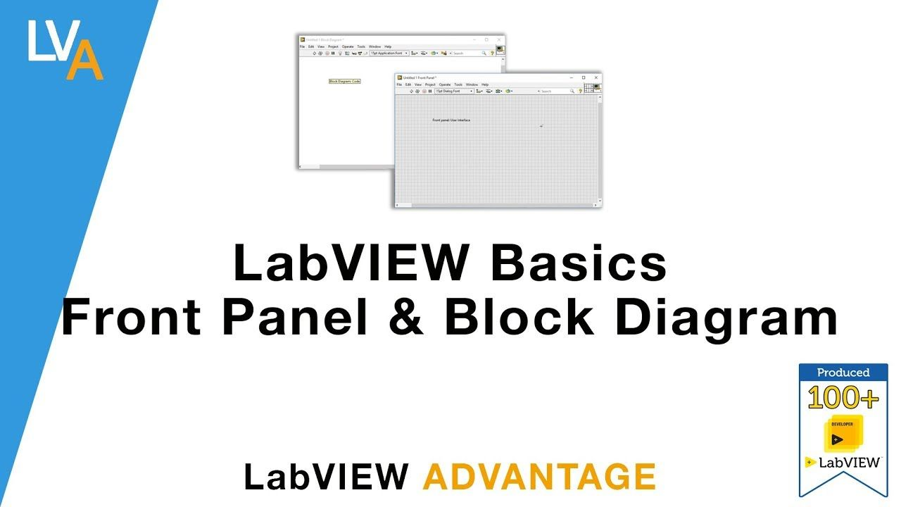 labview basics front panel and block diagram [ 1280 x 720 Pixel ]