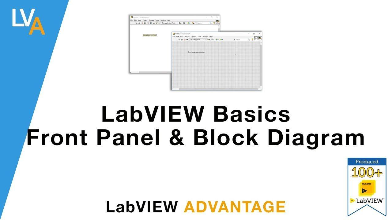 medium resolution of labview basics front panel and block diagram