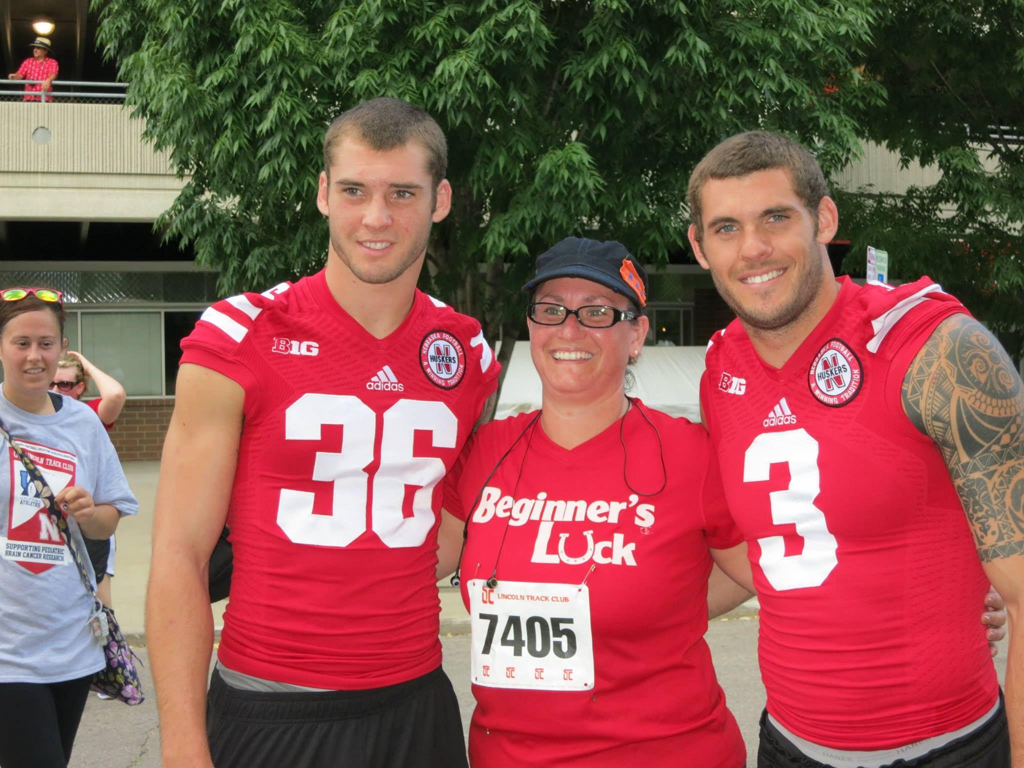 Drake Martinez And Taylor Martinez At Uplifting Athletes Fun Run July 2013 Fun Run Athlete Husker