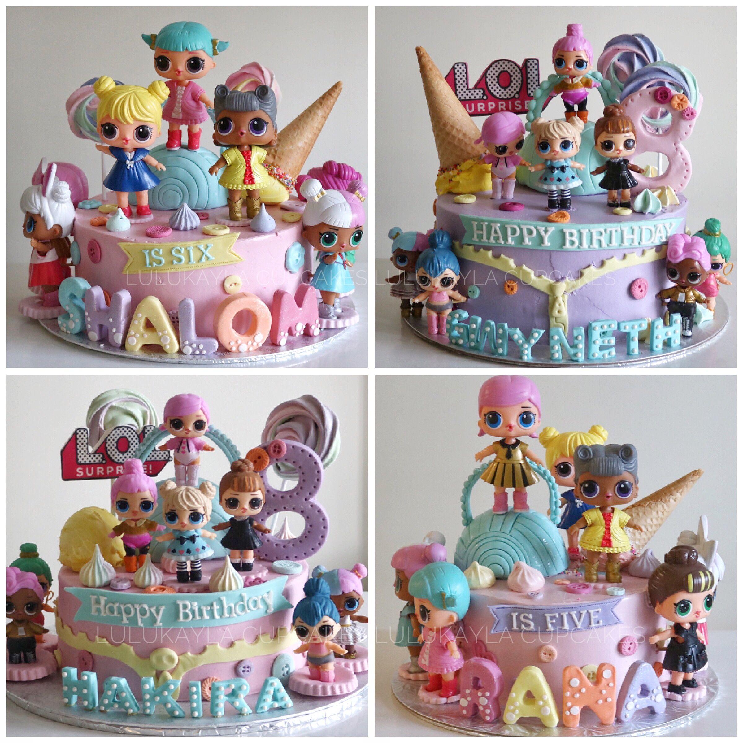 Lol Surprise Cake Funny Birthday Cakes Lol Doll Cake Doll Cake