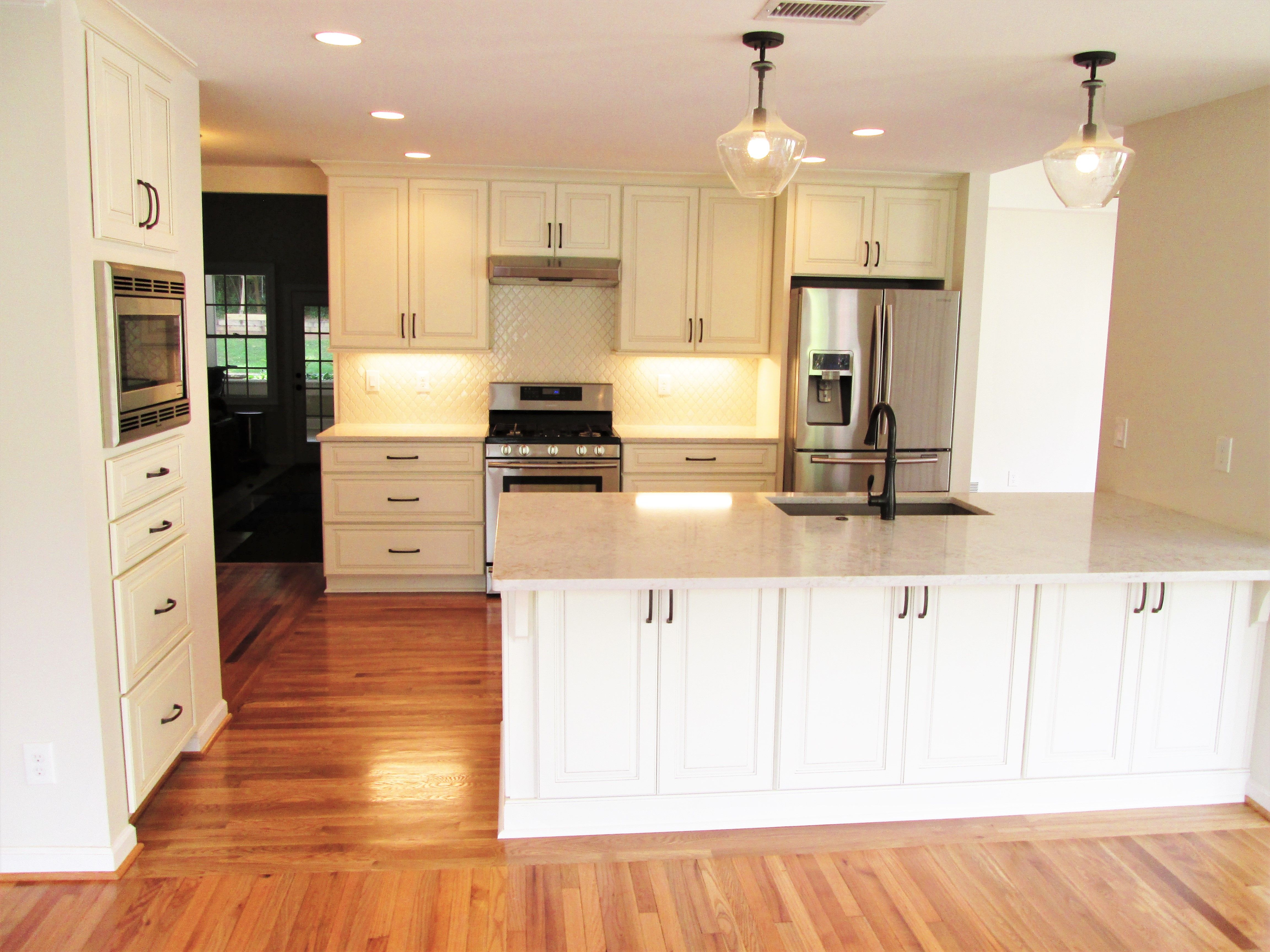 Kitchen renovation by penn carpentry atlanta general contractor