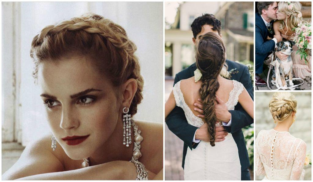 22 ideas de peinados con trenzas para tu boda