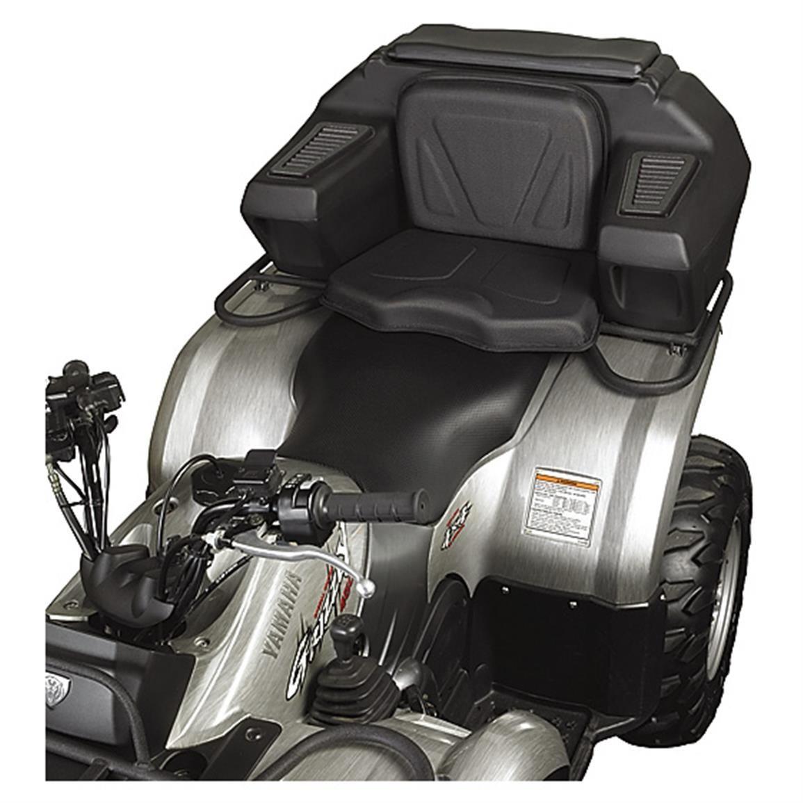Kolpin ATV Rear Lounger with Lockable Helmet Storage Box | Pinterest ...