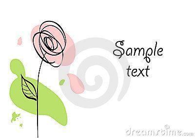 black ink stylized rose - Pesquisa Google