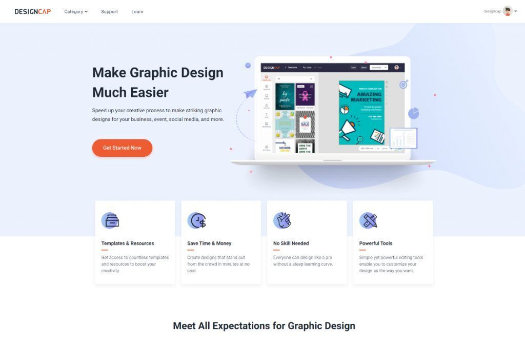 Review Designcap Free Online Poster And Flyer Design Software Posterdesignsoftware Designcap Is A Free Online Poster And Flyer Design Soft
