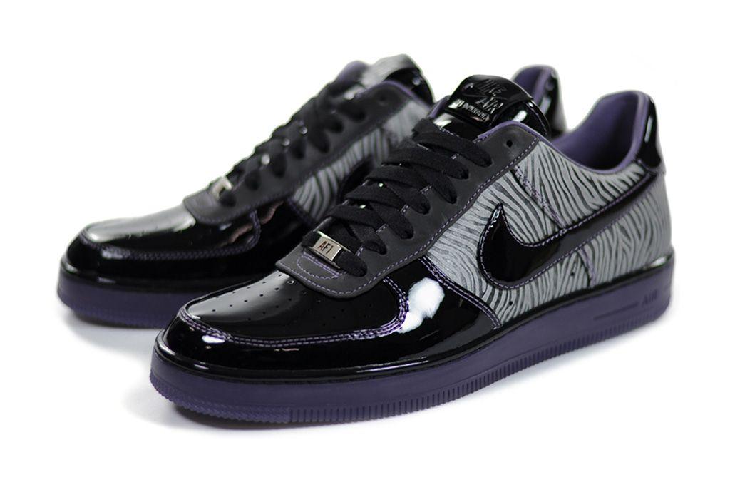 meet 04f05 d9605 Nike Air Force 1 Downtown Zebra