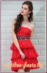 Resultado de imagen para vestidos de fiesta cortos 2013 rojos