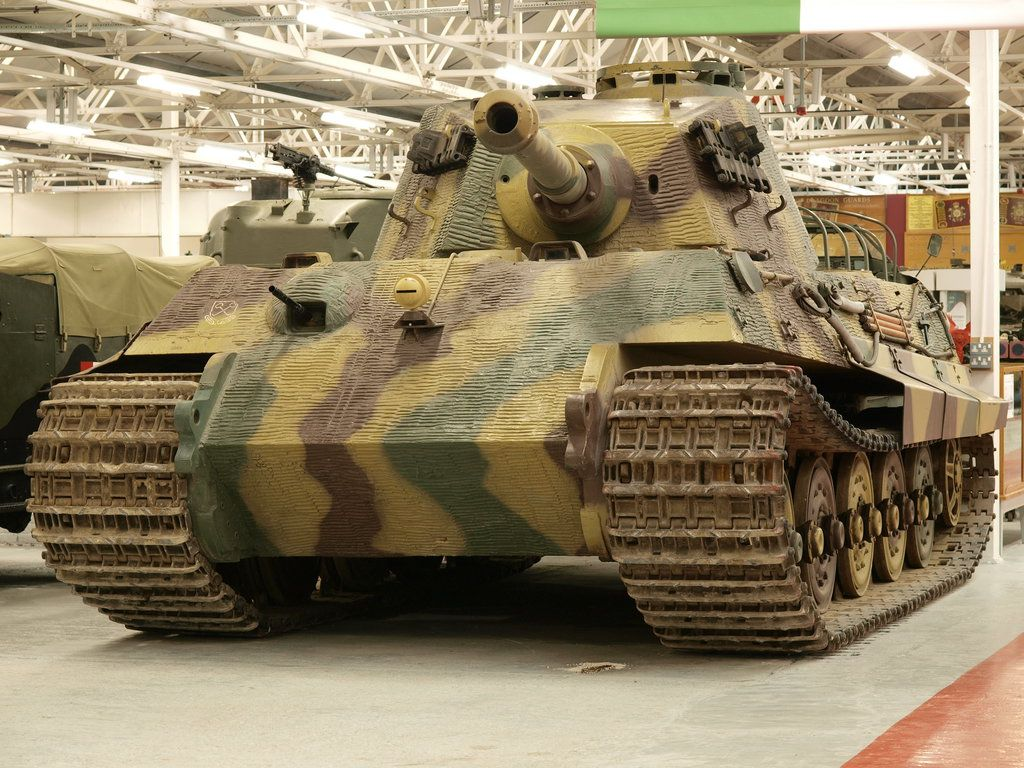 The German Monster Tiger 2 King Tiger Tank By