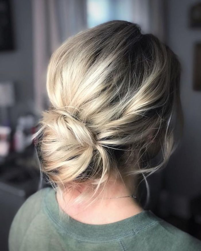 How to style the modern chignon wedding updo - -   18 hair Bridesmaid how to ideas