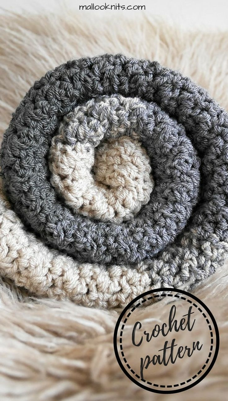 Crochet pattern baby blanket. Easy crochet pattern for a baby blanket with great texture and ombre effect.