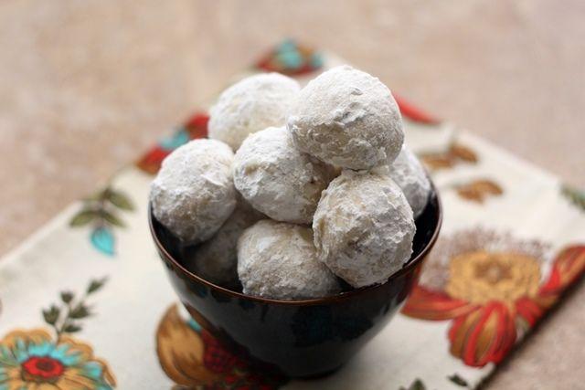 Mexican Wedding Cookies Russian Tea Cakes Sugar Butter Balls