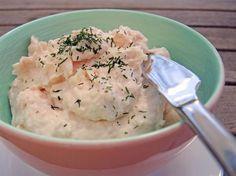 Genialer Lachsaufstrich mit Frischkäse - Chilirosen #frühstückundbrunch