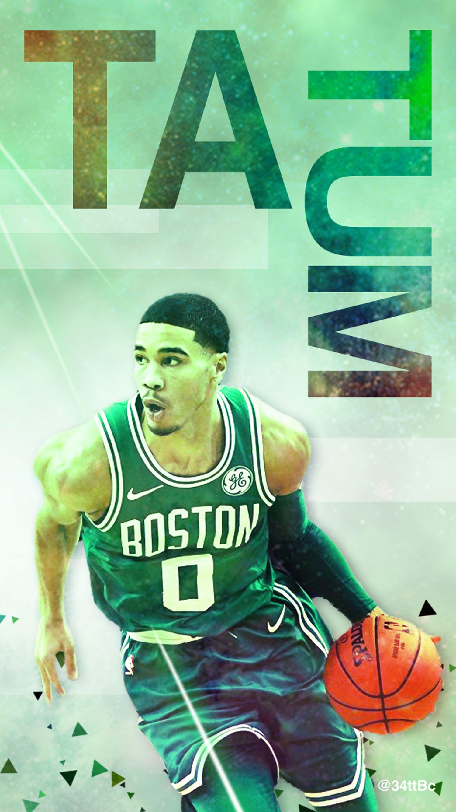 Boston Celtics F Tatum Wallpaper Boston Celtics Jayson Tatum Tatum
