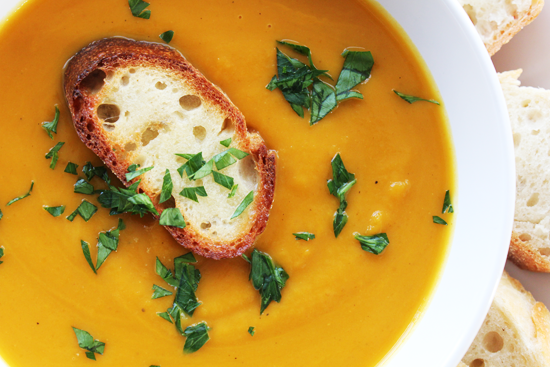 Weeknight Simplicity: Winter Squash Soup | Winter squash soup, Recipes, Soup  recipes