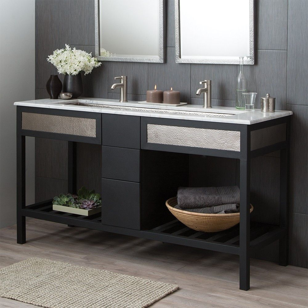 Every Inch Artisan Crafted A Vanity Base That Pairs Hand Hammered