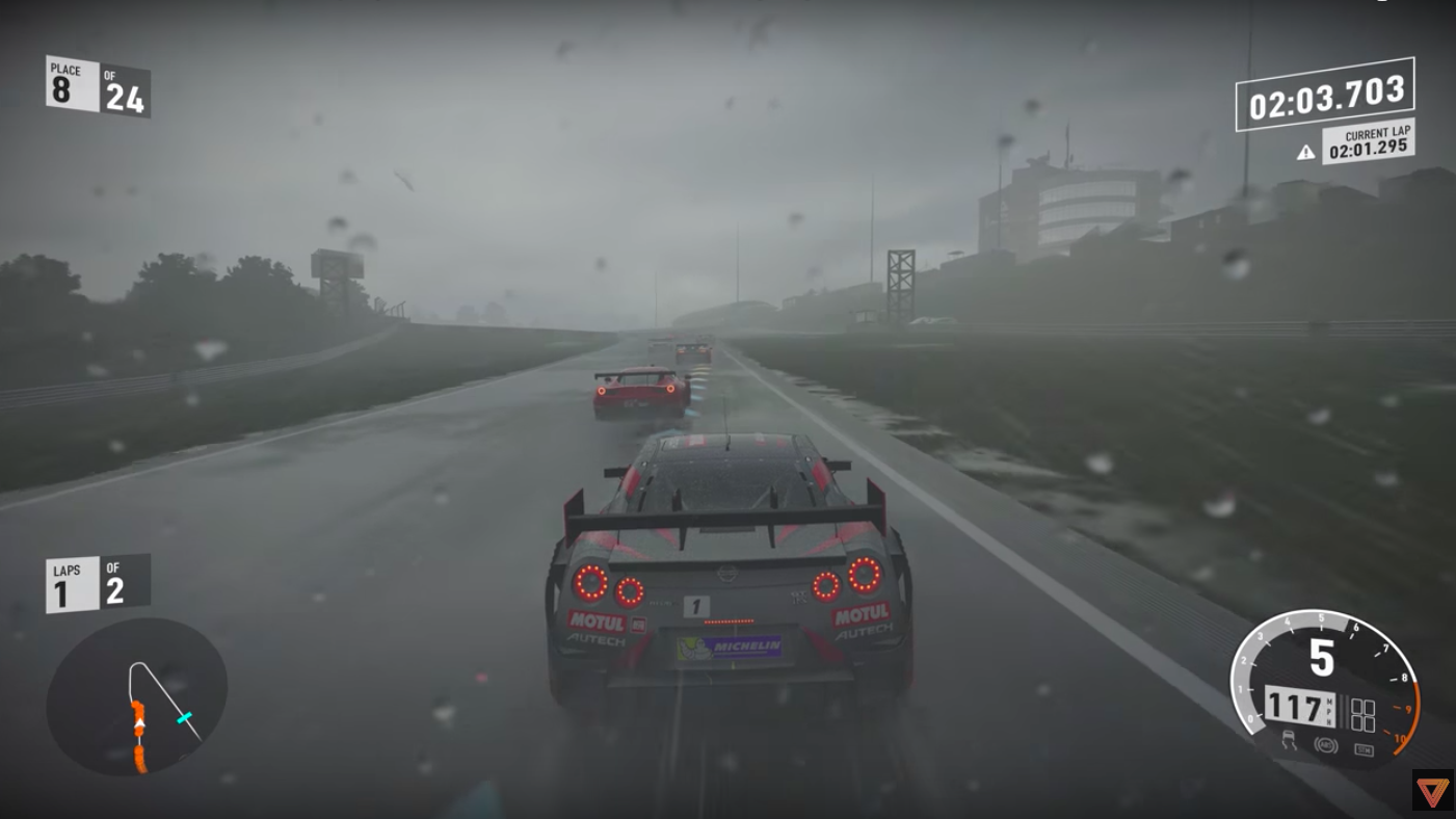 This Forza 7 Gameplay In 4k Is So Realistic My Face Stings From The Rain Forza Forza Motorsport Motul