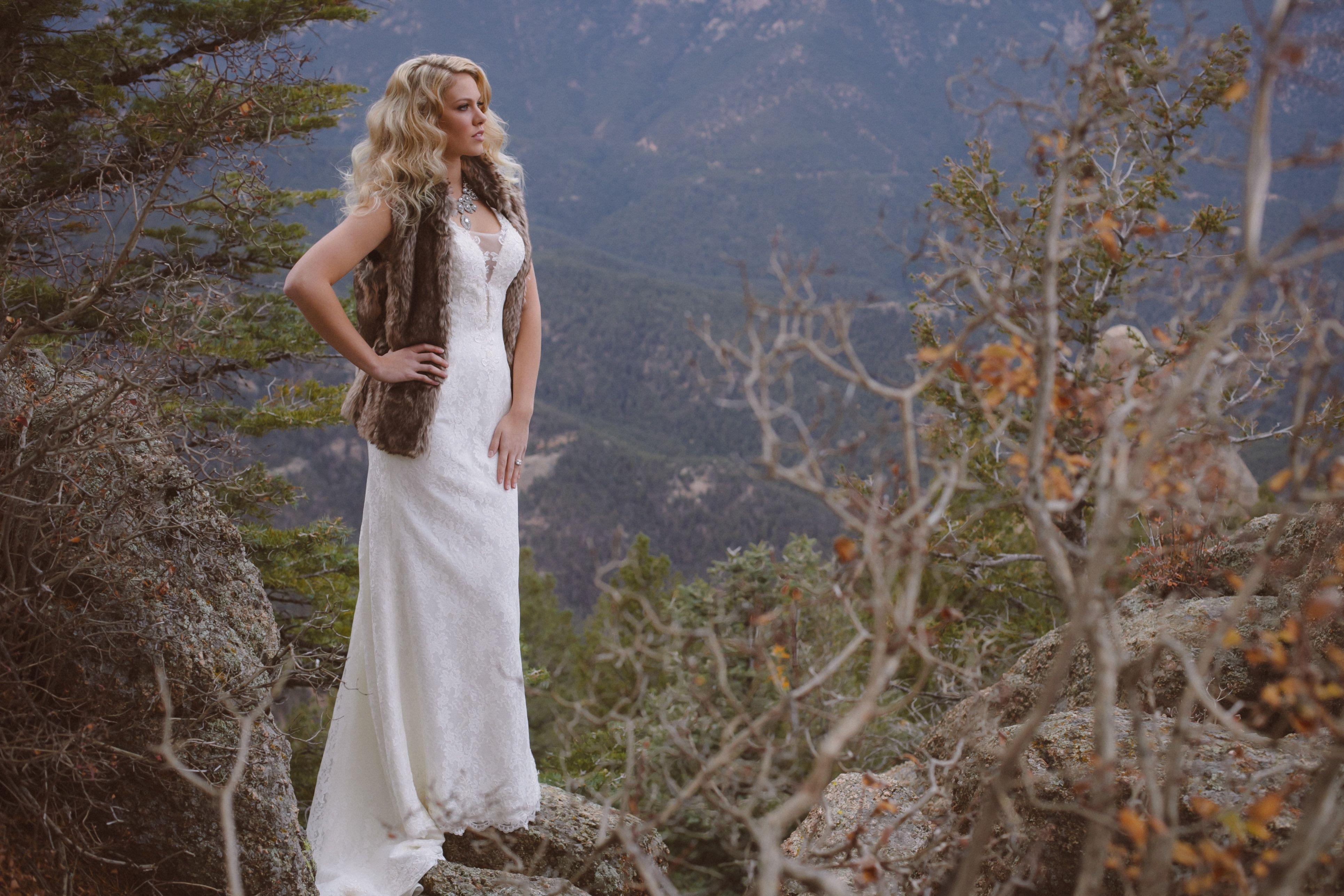 Divina Wedding Dresses at The Broadmoor Cloud Camp | Divina Wedding ...