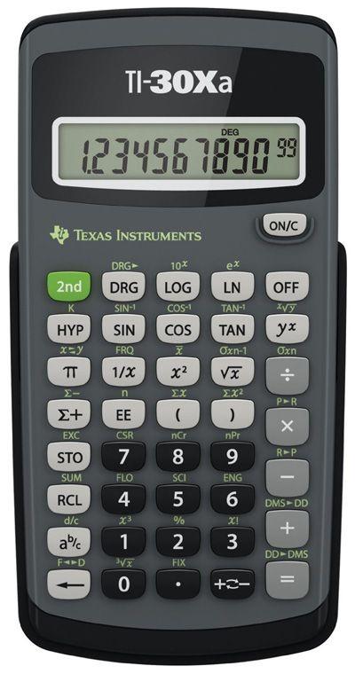 3 Texas Instruments Ti 30xa Scientific Calculator Scientific Calculators Graphing Calculator Calculator