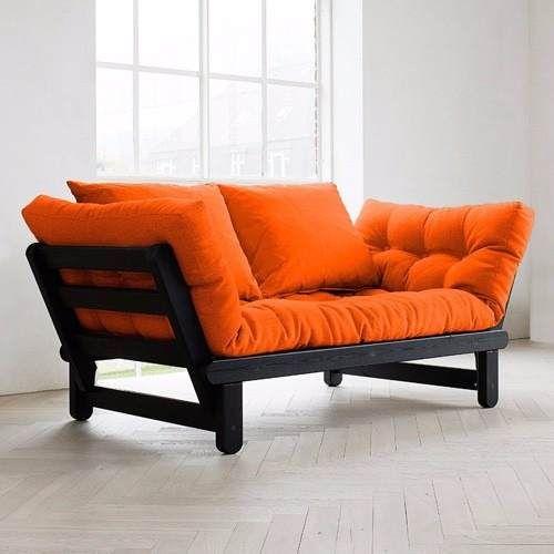 sofa sillon futon lustrado convertible cama divan cheslong | Diseño ...