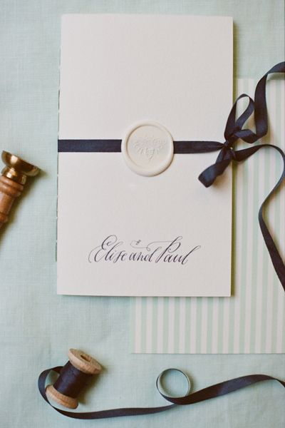 Birmingham Wedding by Mandy Busby and Ginny Au Wax seals Wax and