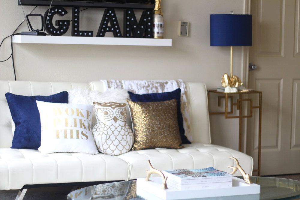 6 Easy Ways To Update Accent Decor Gold Living Room Decor Gold