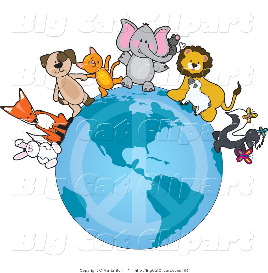 Clipart Of Cute Critters Art Animal Groups Clip Art