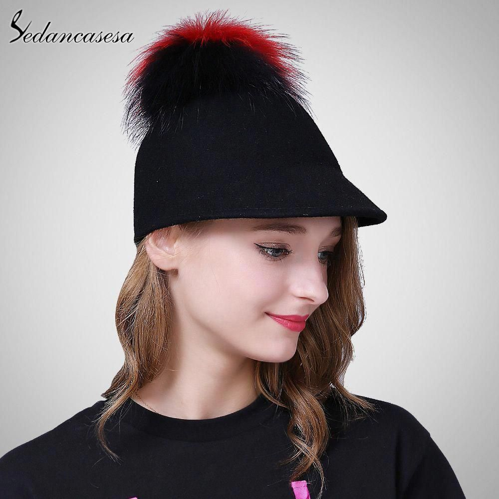c2823f3c21f Knight Hat Equestrian Caps Women Winter Retro British cap wool Fedora Hats  for Street beat Hipster FW219005 Great