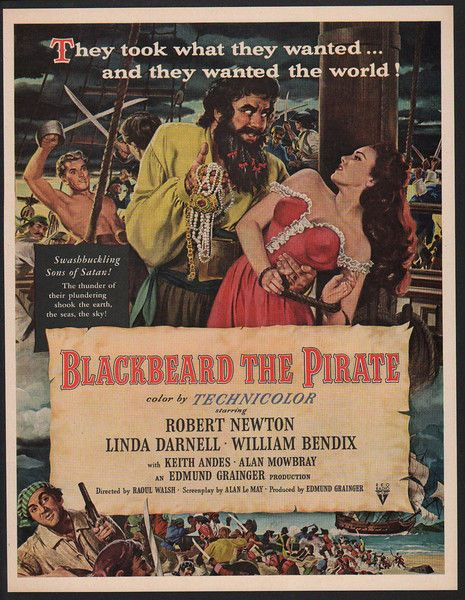 Download Blackbeard, the Pirate Full-Movie Free