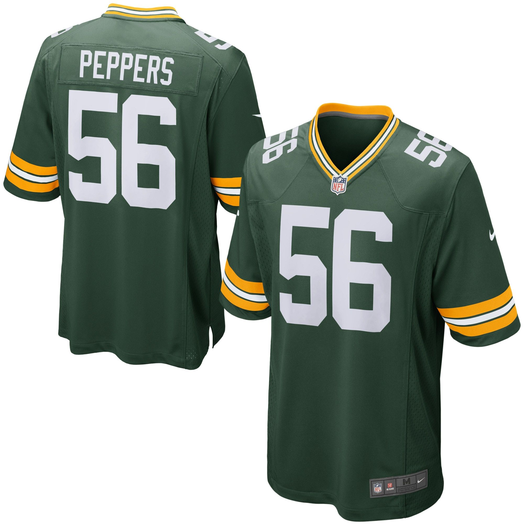 Mens Green Bay Packers Julius Peppers Nike Green Game Jersey Green Bay Packers Jerseys Green Bay Packers Green Bay