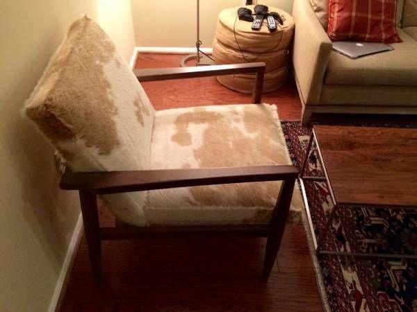 Craigslist Crushes West Elm Ikea And Arhaus Cowhide Chair Arhaus Furniture Arhaus