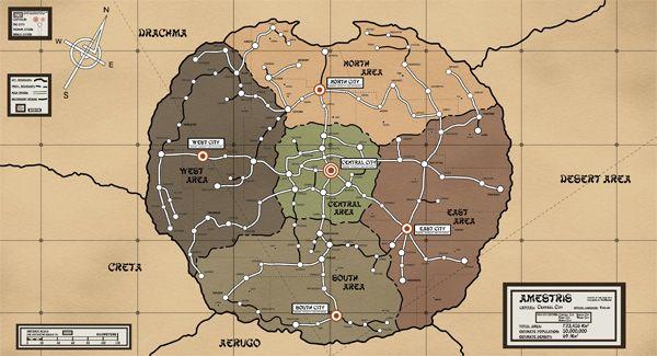 Amestris Map For Fullmetal Alchemist Fullmetal Alchemist Brotherhood