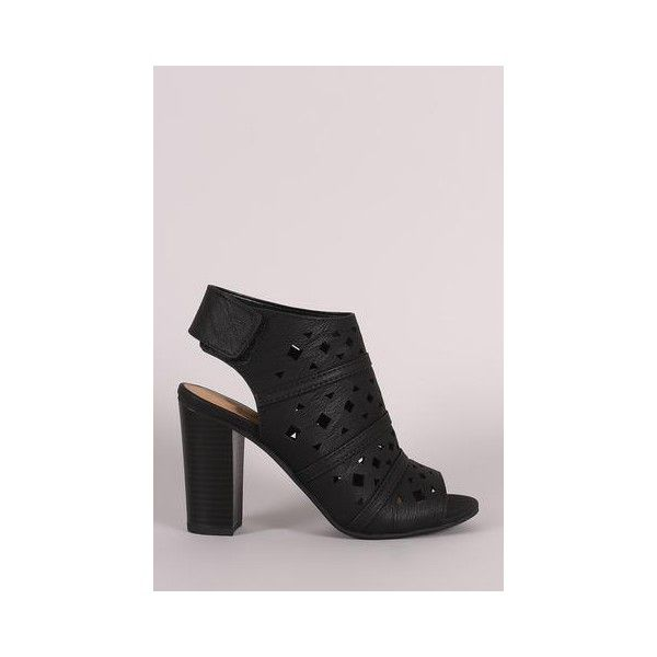 Liliana Suede Triple Ankle Strap Single Sole Heel ($38) ❤ liked on Polyvore featuring shoes, pumps, liliana footwear, ankle strap shoes, suede ankle strap pumps, ankle tie shoes and suede shoes