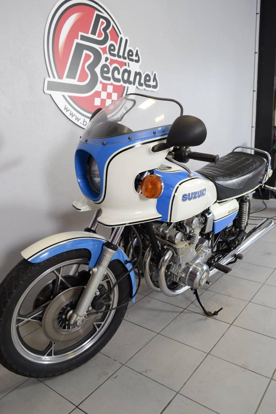 SUZUKI GS1000S Wes Cooley de 1979 d'occasion - Motos anciennes de collection japonaise Motos disponibles