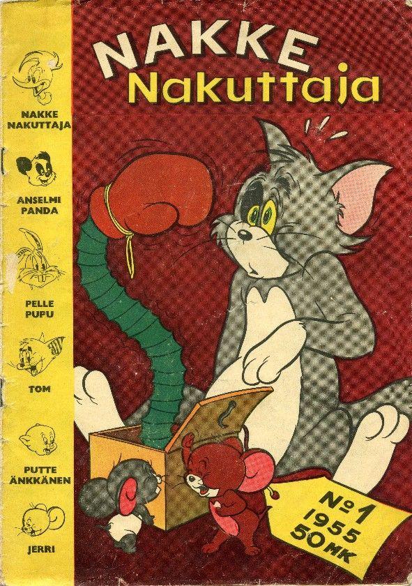 Nakke Nakuttaja 1 1955 Kansi: Tom and Jerry 122