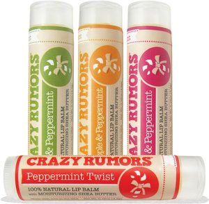 Crazy Rumors Candy Flavoured Lip Balms