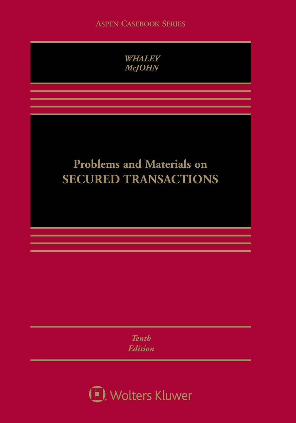 Problems And Materials On Secured Transactions Ebook Law Books