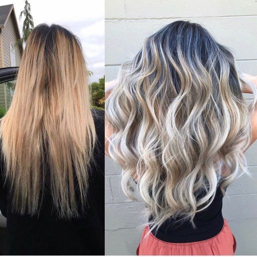 From Grown-Out and Warm To Hot Blonde - Color - Modern Salon