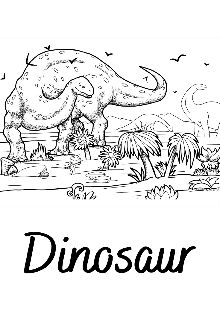 100 Dinosaur Coloring Pages For Kids Dinosaur Coloring Pages Dinosaur Coloring Preschool Coloring Pages