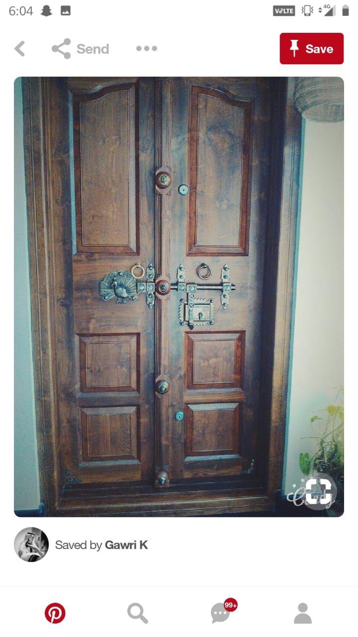 Pin by Triveni Harish on NEW | Front door design, Wooden ...